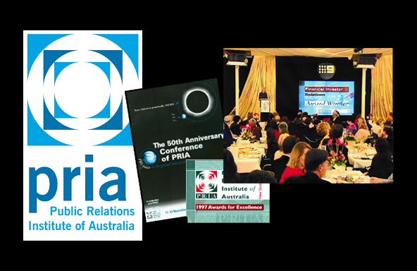 <em>PRIA</em> (Public Relations Institute Australia)