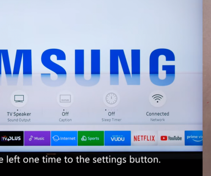 Samsung smart TV accessibility features expanded for the vision or hearing impaired.